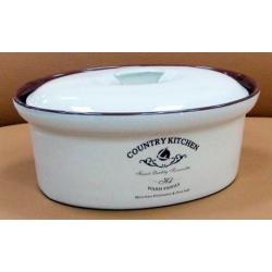 Кастрюля с крышкой «Кухня в стиле Кантри» 25х20 см/ 1,8 см