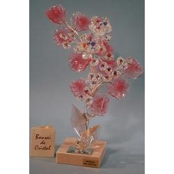 Бонсай хризантемы розовый 25 см