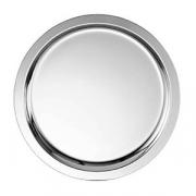 Поднос круглый; сталь нерж.; D=35см