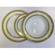 Набор тарелок «Кремовое панто» на 6 персон 18 предметов
