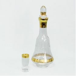 Набор для ликера «Porthos»; 1 графин (750мл) + 6 рюмок (60 мл)