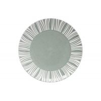 Тарелка обеденная (серо-зелёный) Solaris без инд.упаковки