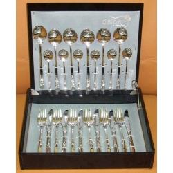 Набор столовых приборов «Elegance» 24 предмета на 6 персон