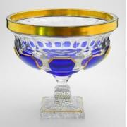Ваза для фруктов 24 см «Арнштадт Антик синий»