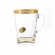 Набор для чая 320мл. 6 перс. «Голд»