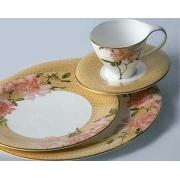 Сервиз чайный 17 предметов на 6 персон «Античная роза»