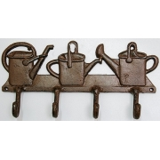 Вешалка садовая «Лейки» 29х14см