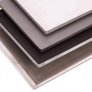 Противень, сталь нерж., H=2,L=60,B=40см, металлич.