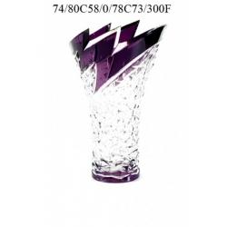 Ваза фиолетовая 300