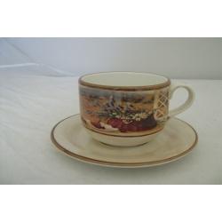 Чашка с блюдцем «Гармония» 0,5 л