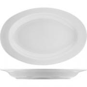 Блюдо овальное «Нептун» L=24см; белый