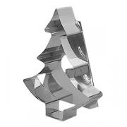 Форма-резак «Ель»; металл; H=16см