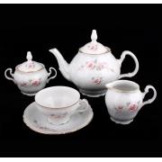 Сервиз чайный на 6перс.15пред «Роза серая 5396011»