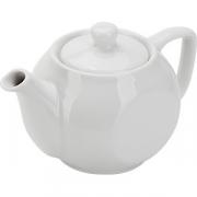Чайник «Соло» фарфор; 400мл; белый