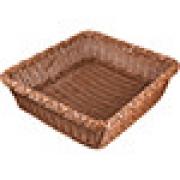Корзина плетен. для хлеба прям. H=11, L=45, B=40см; коричнев.