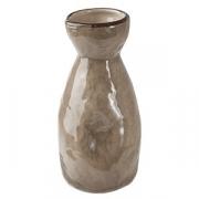 Бутылка для саке «Кунстверк», керамика, 152мл, D=6,H=13см, зелен.,коричнев.