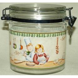 Банка для сыпучих продуктов «На кухне» 0,65 л/ 13 см