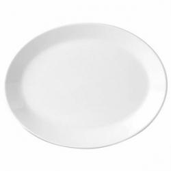 Блюдо овал «Симплисити вайт» 34.25см