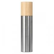Мельница для соли/перца; сталь нерж.,бук; D=50,H=215мм; металлич.
