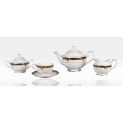 Сервиз чайный «Дворцовый кобальт» 17 предметов на 6 персон