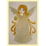 Ангелочек с колокольчиком(рождественский)