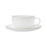 Чашка с блюдцем Кашемир Голд кофейная без инд.упаковки