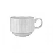 Чашка кофейная «Уиллоу» фарфор; 85мл; белый