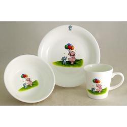 Детский набор посуды из 3-х предметов «Медвежата»