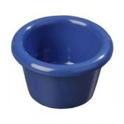 Соусник; пластик; 45мл; D=6,H=4см; голуб.