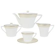 Чайный сервиз из 17 предметов на 6 персон Бриз Голд