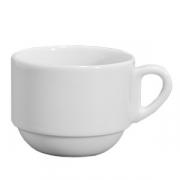 Чашка для капучино «Бистро», фарфор, 200мл, белый