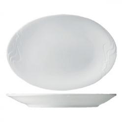 Блюдо овал «Мелодия» 28см фарфор