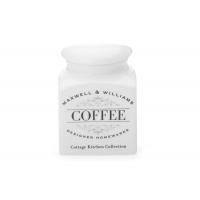 Банка д/сыпучих продуктов (кофе) Cottage Kitchen в подарочной упаковке