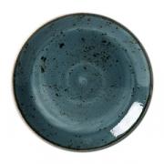 Тарелка мелкая «Крафт»; фарфор; D=28см; синий