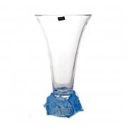 Ваза для цветов 35,5cм «Фрост Розы Голубой»