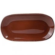 Блюдо овал «Террамеса мокка» 25.5*13см
