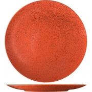Тарелка мелкая «Лайфстиль» D=30см; киноварь