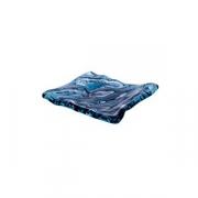 Блюдо для компл. «Море» L=15, B=14см; синий