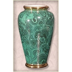 Донателла платина 287/35 ваза 35см (керамика)