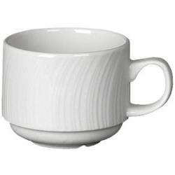 Чашка коф «Спайро» 170мл фарфор