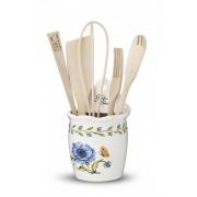 Емкость настенная с кухонными инструментами «Ботанический сад»
