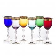 Набор бокалов выс/н 250 мл. 6 шт «Джесси Колорс»