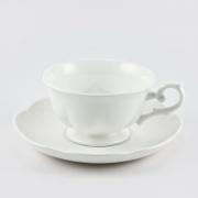 Набор 6 чайных пар 200мл «White»