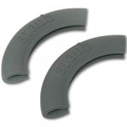 Набор силиконовых ручек, 2 шт., цвет серый