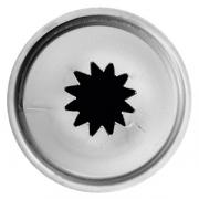 Насадка кондит. «Звезда», сталь нерж., D=22,H=33мм, металлич.