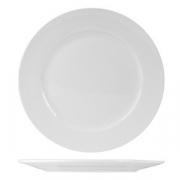 Тарелка мелкая «Кунстверк», фарфор, D=225,H=20мм, белый