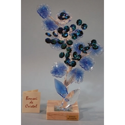 Бонсай хризантемы синий 25 см