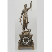 Часы «Правосудие» 51х17см.