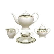 Чайный сервиз Анжелика 40 предметов на 12 персон
