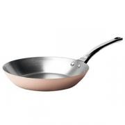 Сковорода; медь,сталь нерж.; D=32,H=4см